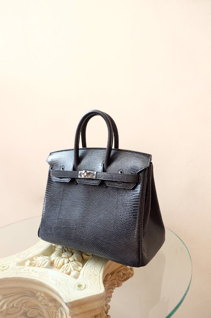 Kinda Kollection: Hermes Birkin B25 Lizard GHW Mirror Original ...