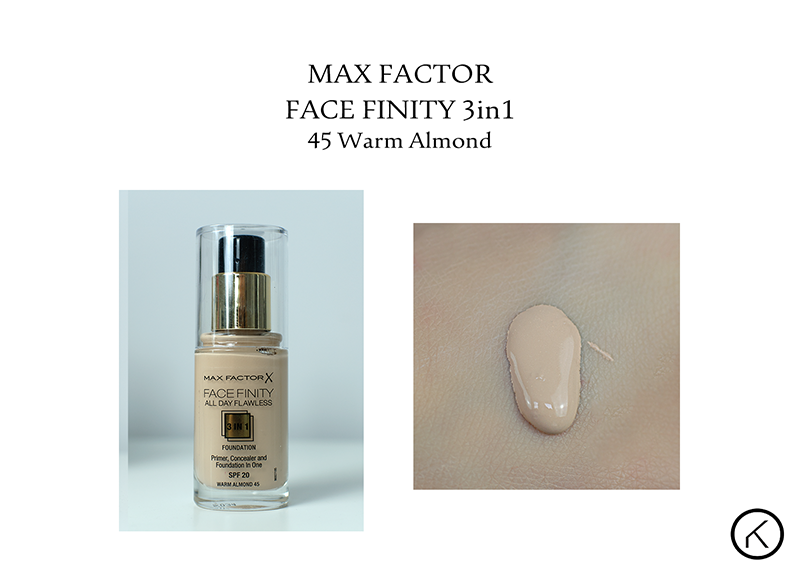 Max Factor Face Finity 3in1  45 warm almond  klik