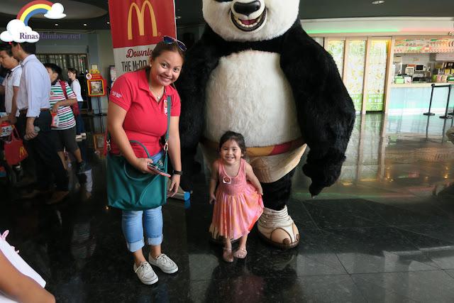 Po mascot Kung Fu Panda