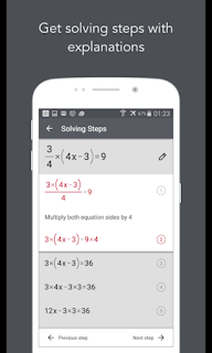 HOW TO SOLVE MATH PROBLEMS WITH YOUR SMARTPHONE AND IOS EASILY JUST A SNAPSHOT