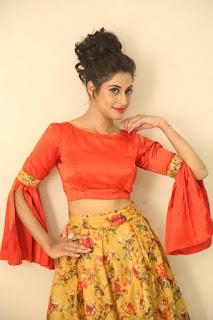 Actress Iraa Stills IN Floral Skirt at Vaadu Veedu O Kalpana Audio Launch  0008.jpg