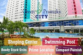 Investasi Apartemen Green Pramuka City, Investasi Hunian Paling Menguntungkan dan Menjanjikan dengan Fasilitas Super Lengkap di Jakarta!