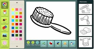 http://a-casa.colorir.com/o-banheiro/escova-de-cabelo.html