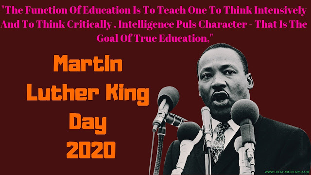 Martin Luther King Day in 2020