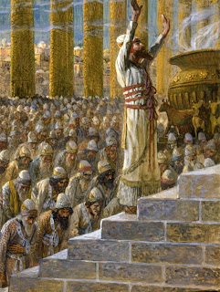 Solomon Dedicates the Temple - James Tissot