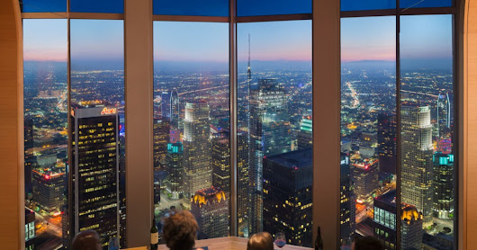 Savour The View From The Top At LA's 71 Above