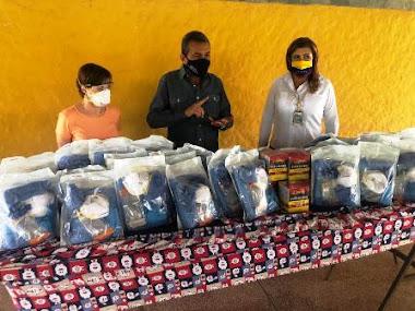 Gobierno regional entregó equipos de protección personal en hospital II de El Vigía