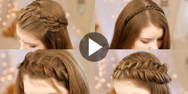 How To Create These 5 Headband Braids Hairstyles