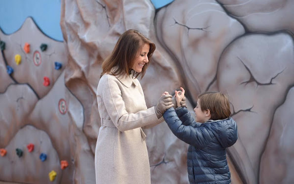 Prince Joachim, Princess Marie and their children Prince Felix, Prince Henrik and Princess Athena visited Legoland amusement park style earrings, fashion wedding dress
