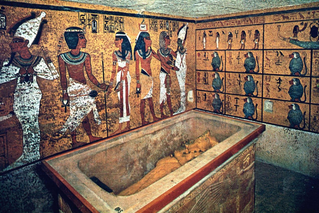 Egypt 'suppressing truth' over hidden chambers in Tutankhamun's tomb