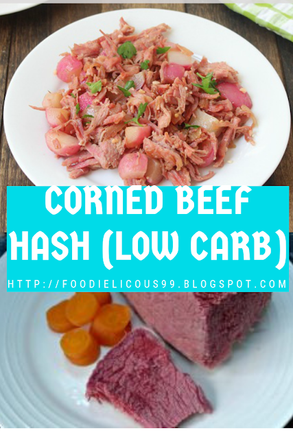 CORNED BEEF HASH (LOW CARB)