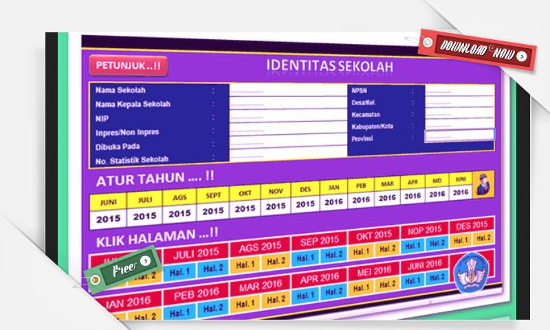 aplikasi laporan bulanan sekolah