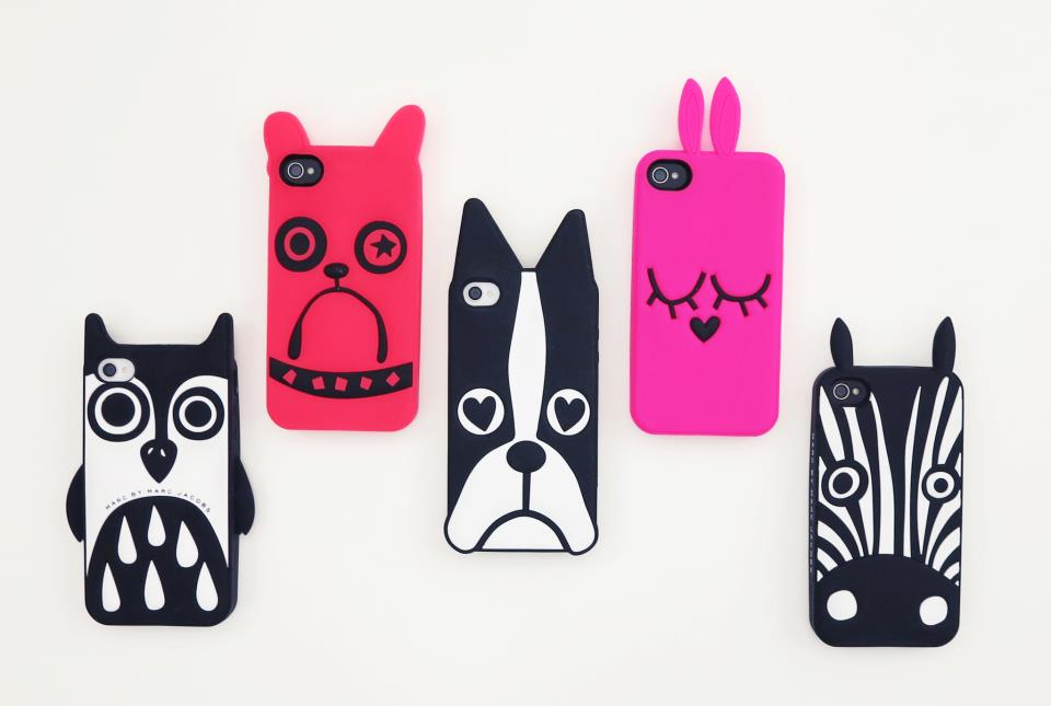 this western feeling marc by marc jacobs animal iphone cases. Black Bedroom Furniture Sets. Home Design Ideas