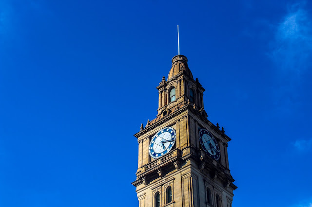 Melbourne General Post Office Clock Tower @ Melbourne CBD, Victoria, Australia 墨尔本邮政总局 澳洲澳大利亞 維多利亞州