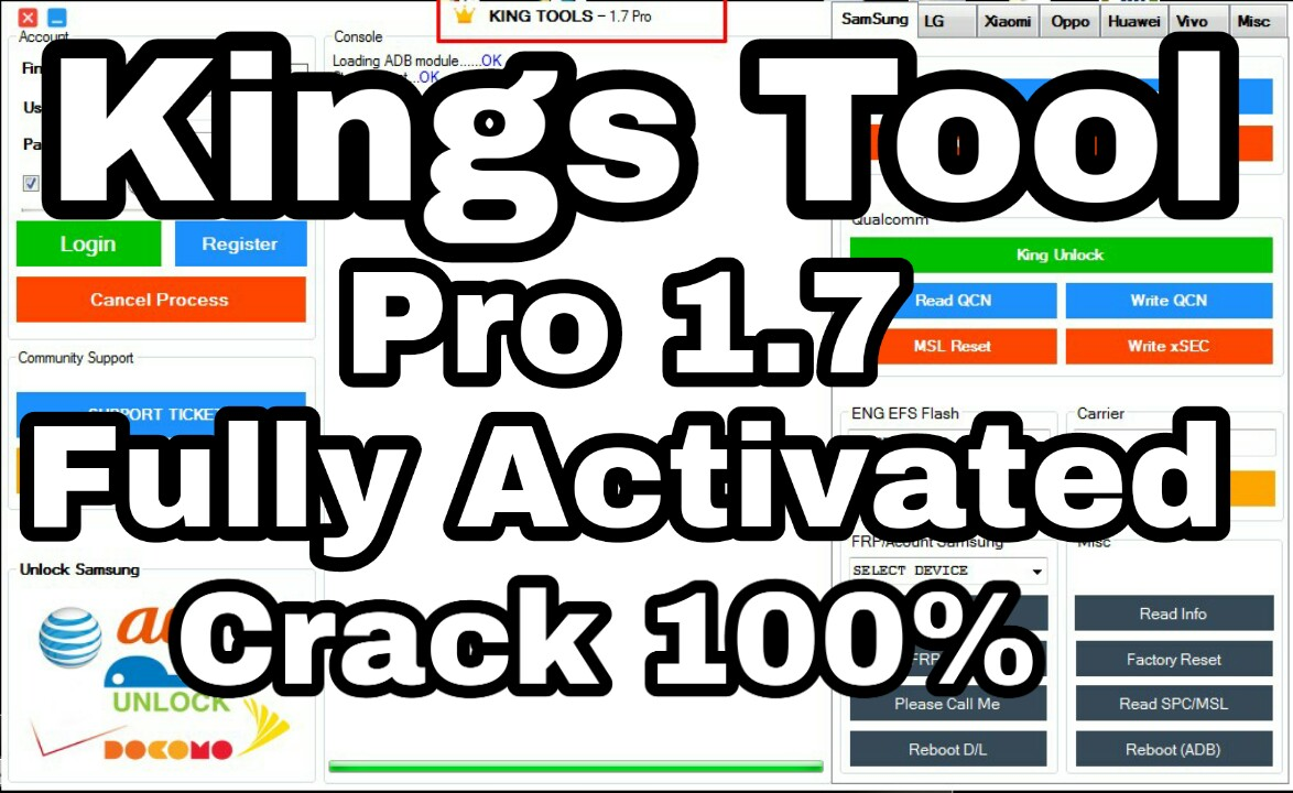 Kings Tool Pro 1 7 Fully Activated Crack Fee Download - Gsm Helper Team