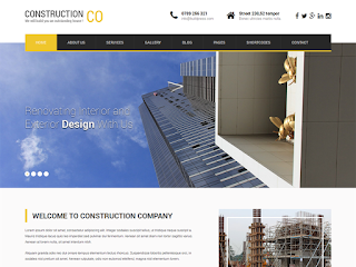 SKT Construction Lite тема WordPress