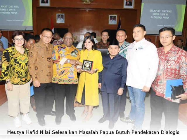 Meutya Hafid Nilai Selesaikan Masalah Papua Butuh Pendekatan Dialogis