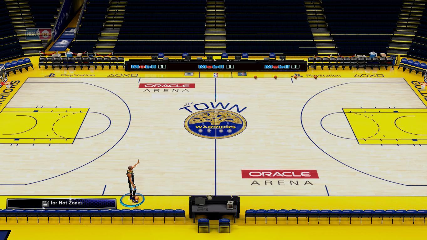 Golden State Warriors Home Court >> Golden State Warriors Alternate Court [FOR 2K14] - NBA 2K Updates, Roster Update, Cyberface, Etc