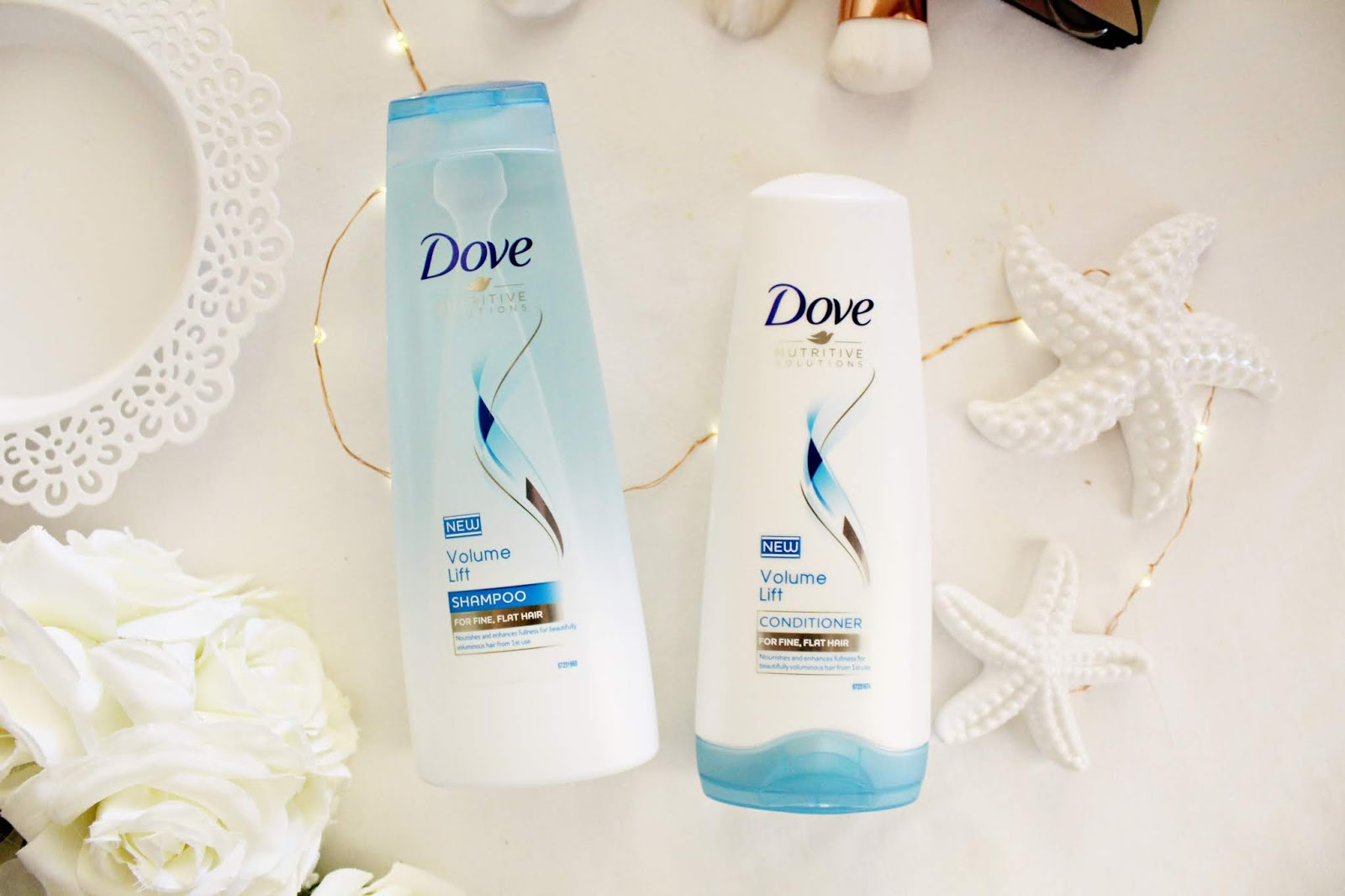 DOVE NUTRITIVE SOLUTIONS VOLUME LIFT - szampon i odżywka do włosów cienkich i pozbawionych objętości