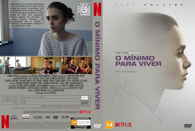 Capa DVD O Mínimo Para Viver [Custom]