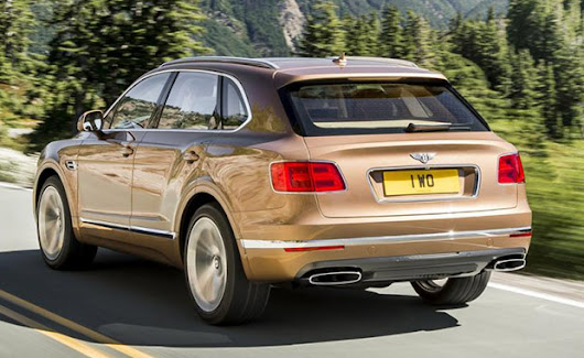 Bentley - SUV Bentayga | ARABA HASTASI