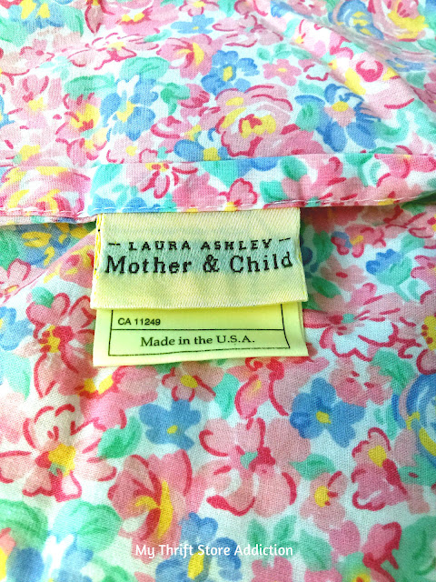 Laura Ashley crib sheet