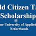 Holland: World Citizen Scholarship for International Students at the Hague University of Applied Science, Holland. 2017/2018