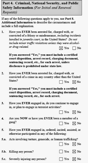 uscis form i-821d for daca background check