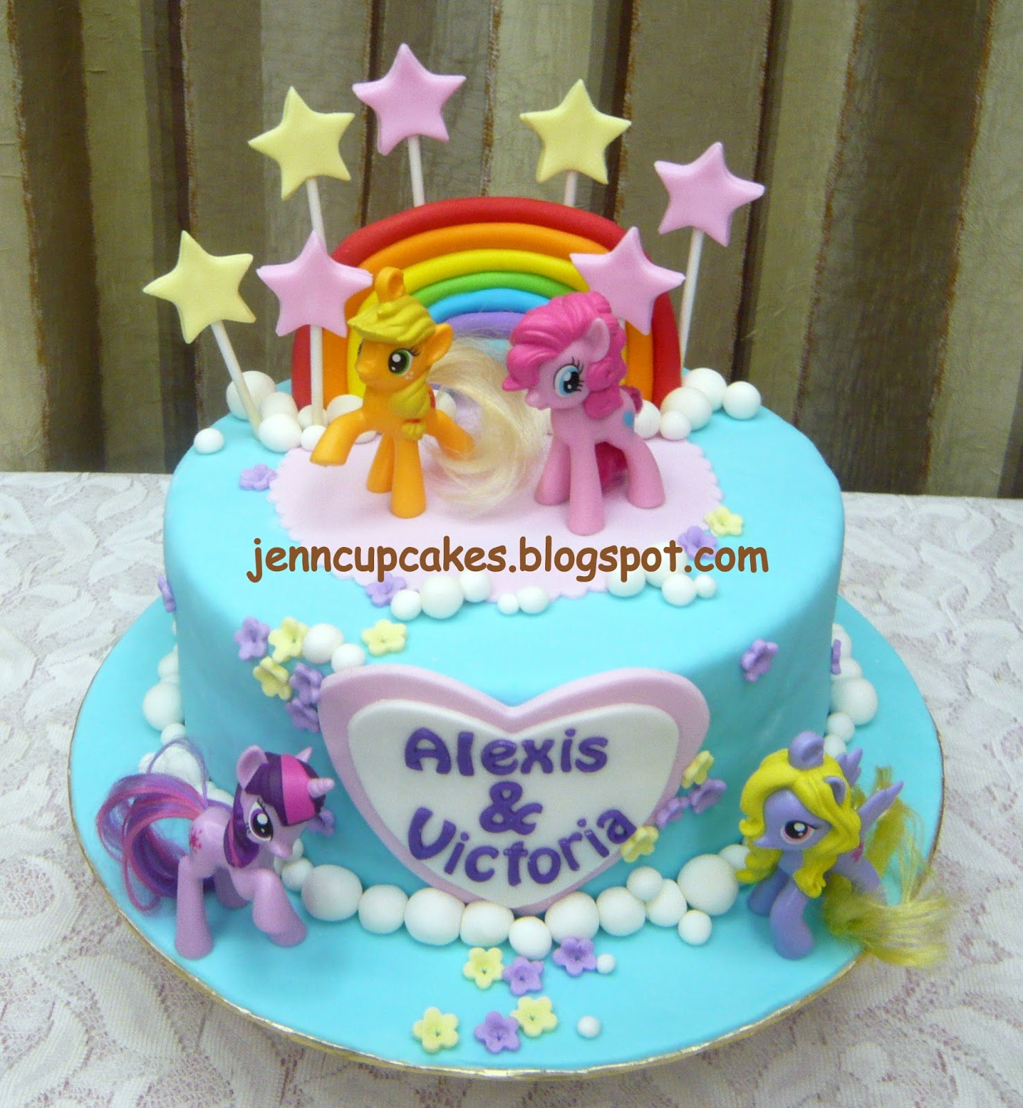 Home Decorating Ideas Pinterest Jenn Cupcakes Amp Muffins My Little Pony Cake
