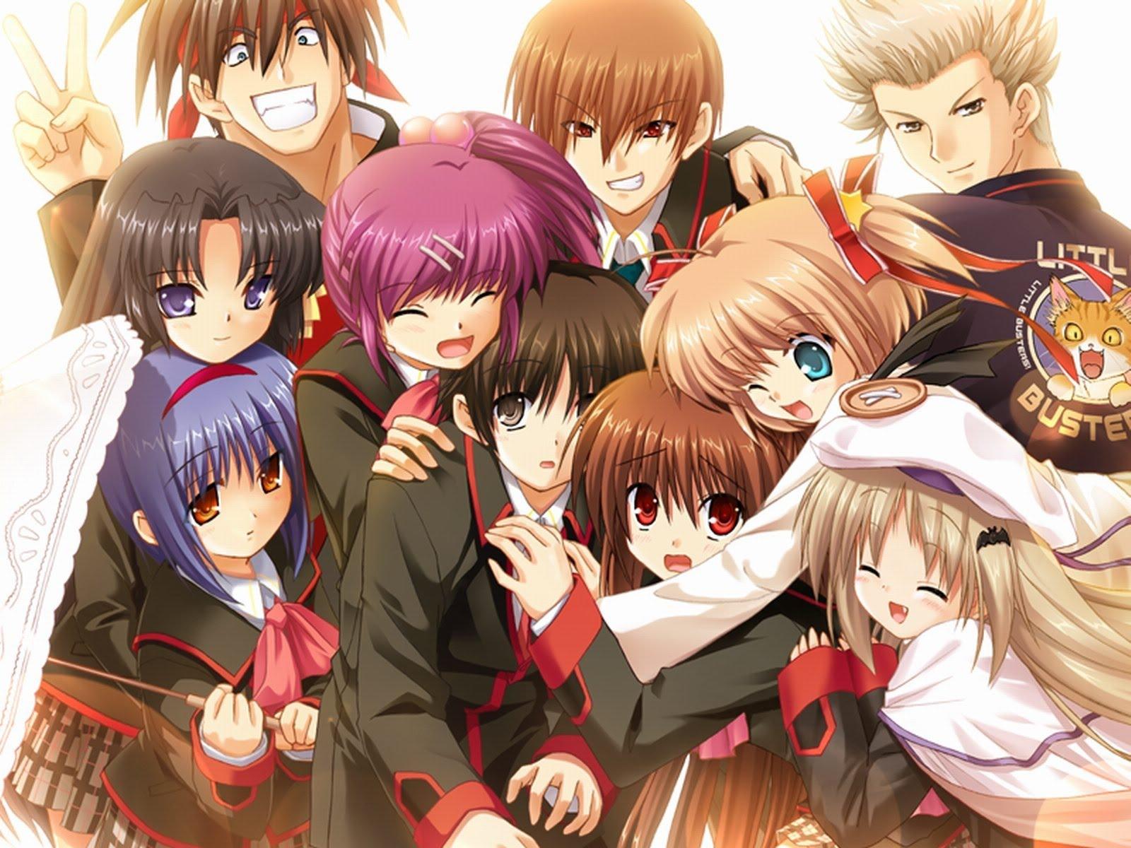 Riview Anime Seru Little Buster OST Beserta Reviewnya Sad Atau