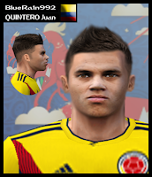 PES 6 Faces Juan Quintero by BR92