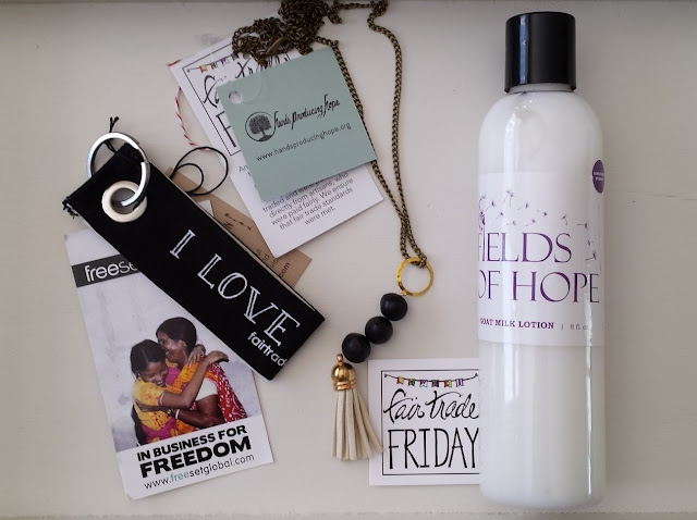 Fair Trade Friday March box