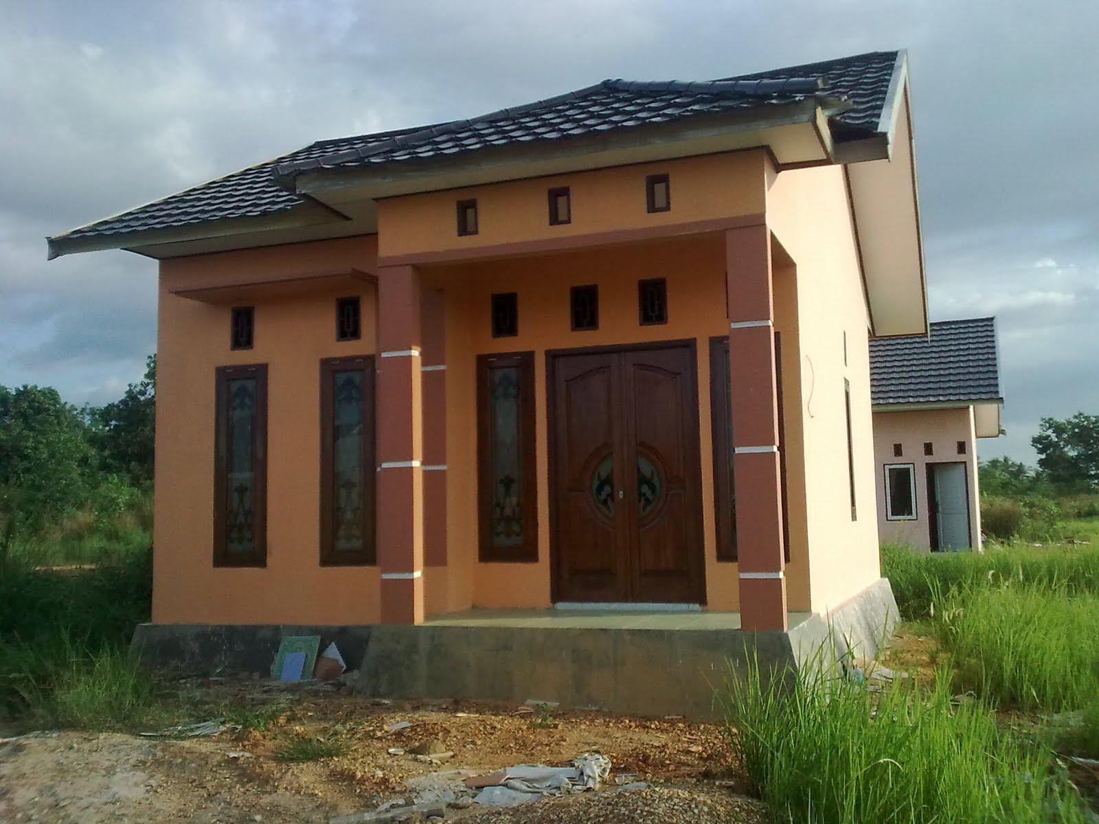 Beberapa contoh bangunan rumah jadi PT. LMCP Banjarbaru ...