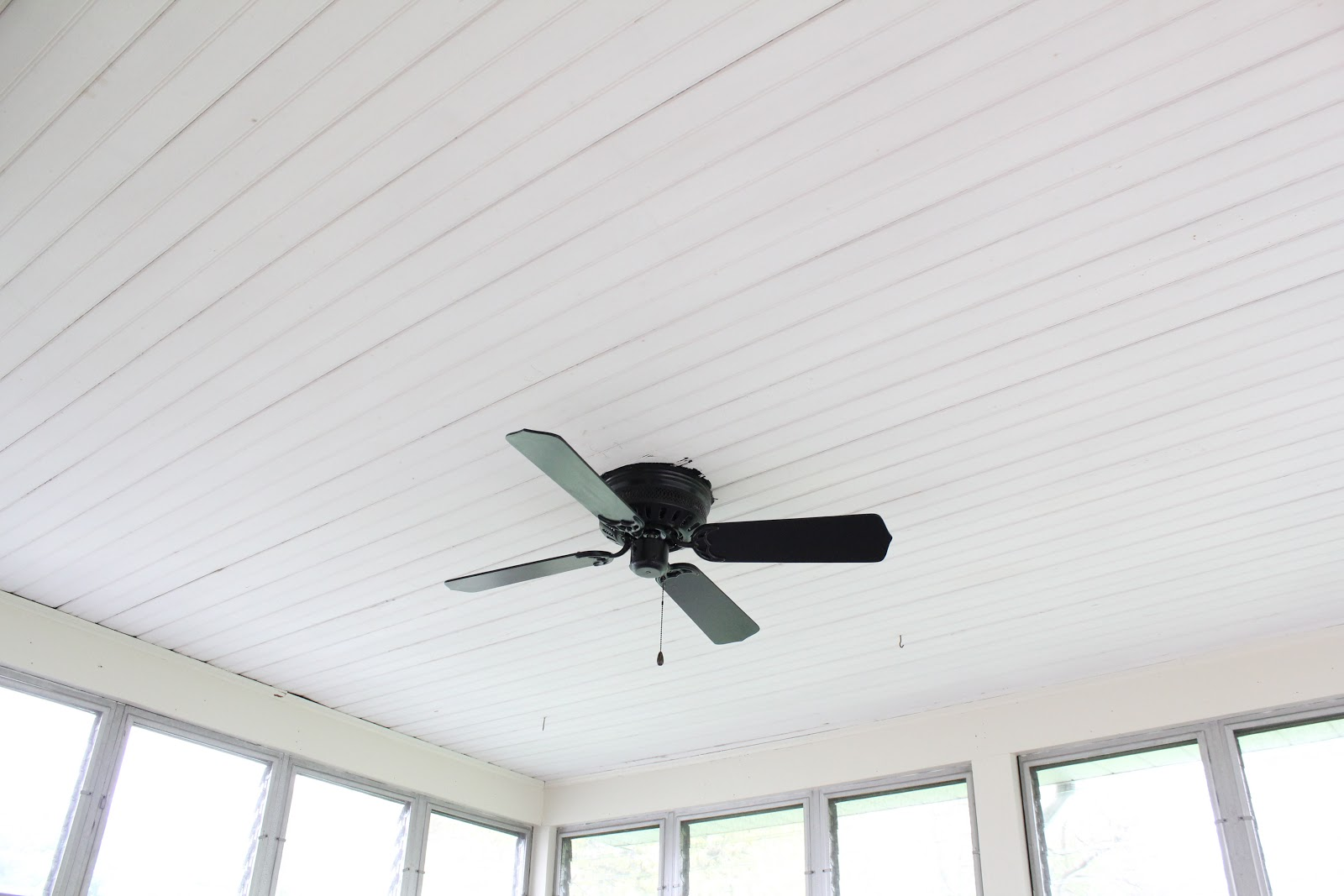 test: painting a ceiling fan