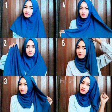 Video Hijab Tutorial Segi Empat Terbaru Hijab Converse