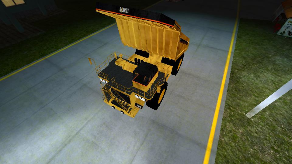 Mod Truck Tambang Caterpilar Terbaru Bussid Mod BUSSID