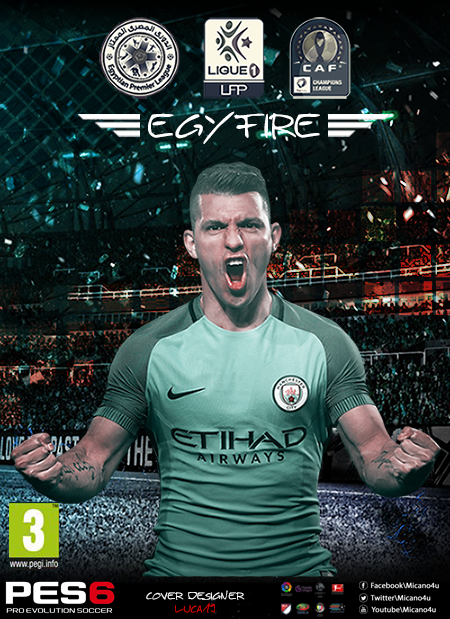 PES 6 EgyFire Patch 16/17 v2 - Released 30/6/2017