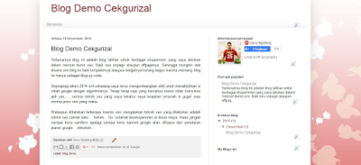 Template SEO Friendly Permak Blogger Bawaan