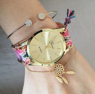 montre femme bracelet brésilien
