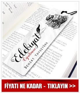 Edebiyat Öğretmenine Özel Kitap Ayracı