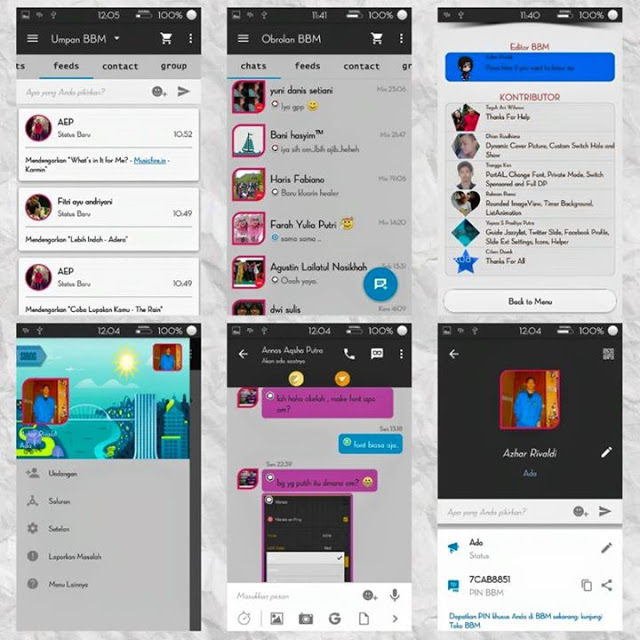 BBM Simple Dark 2.9.0.45
