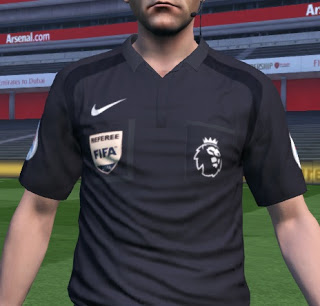 PES 2016 Premier League 2017 Referee Kitpack