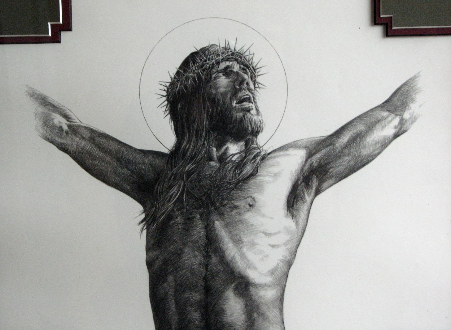 Father Julian's Blog: Prayer in front of Christ Crucified