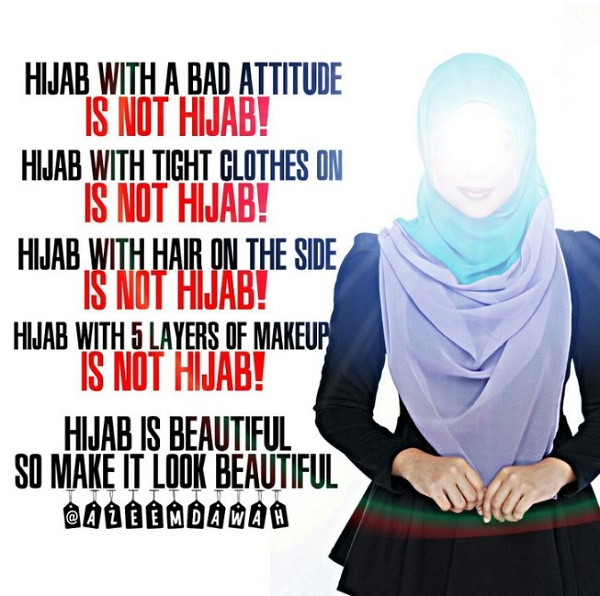 15+ Kata Mutiara Islami Tentang Hijab Bagi Wanita Muslimah - Kata ...