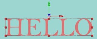 Mendesign Animasi Teks Berbentuk Kubus