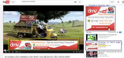 vinamilk sử dụng google adwords để chạy quảng cáo