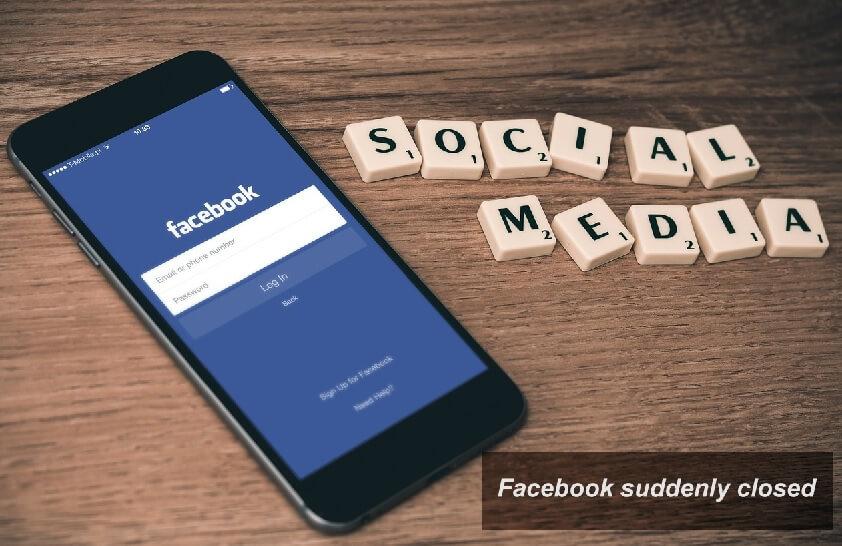 Facebook keluar sendiri