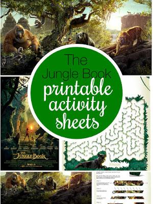 El Libro de la Selva: Libro de Actividades para Imprimir Gratis.
