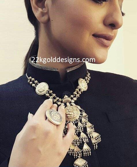 Sonakshi Sinha in Amrapali Jewellery