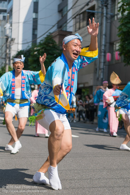 マロニエ祭り、志留波阿連の男踊り その3